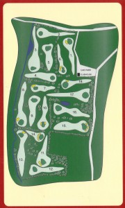 Abbey Par 3 Course Layout